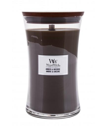 WoodWick Amber & Incense Świeczka zapachowa 610g
