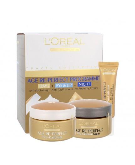 L´Oréal Paris Age Re Perfect Pro-Calcium Krem do twarzy na dzień 50ml zestaw upominkowy
