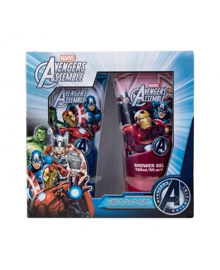 Marvel Avengers Assemble Żel pod prysznic 150ml zestaw upominkowy