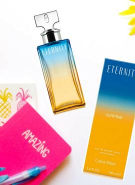 Idealny zapach na upalne dni dla kobiet Calvin Klein Eternity Summer 2017